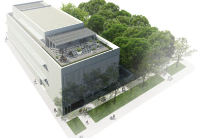 Así va la construcción de la biblioteca en el barrio San Fermín